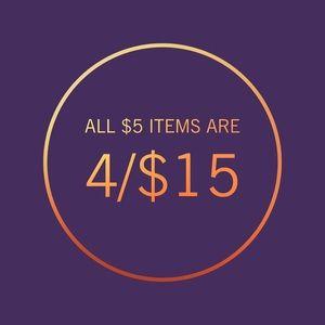 🛍 4/$15 Sale! 🛍